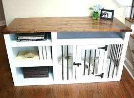diy dog crate table dog crate desk wood dog crates furniture wooden dog crate table indoor
