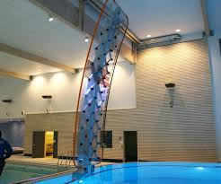 poolside rock climbing wall 3