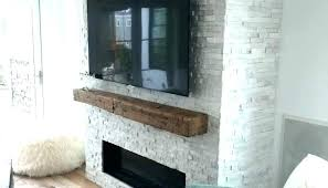 white stacked stone fireplace veneer for canyon heights faux electric in kitchen backsplash quartz natural ven