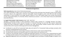 Materials Manager Resume Examples Experienced Supply Chain ...