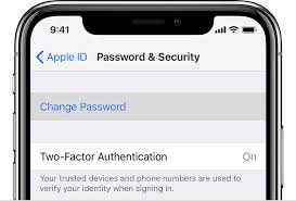 Change Your Apple Id Password Apple Support