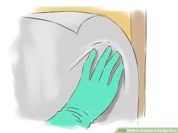 insulating a garage doorHow to Insulate a Garage Door 6 Steps with Pictures  wikiHow