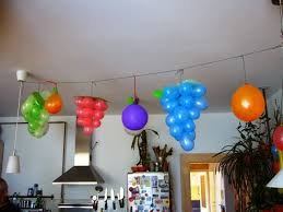 Using streamers or thick tape, tape them against a shut door. 7 Lovable Very Easy Balloon Decoration Ideas Part 1 Sad To Happy Project
