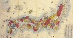 日本 地図 江戸 時代