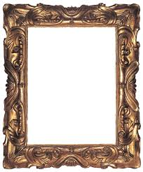 Antique frame French 1 Carved And Gilt Mannerist Frame Of Reverse Profile In The Auricular Style With Stylized Shell Motifs At Centers Surrounded By Deeply Sculpted Scrolls And Incollect The Lure Of Antique Frames Article Incollect