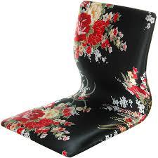 cheap oriental furniture. amazoncom oriental furniture tatami meditation backrest chair black u0026 red hibiscus kitchen dining cheap