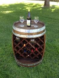 wine barrel wine rack furniture. Wine Barrel Patio Table   Build It Pinterest Pub Tables, And Barrels Rack Furniture