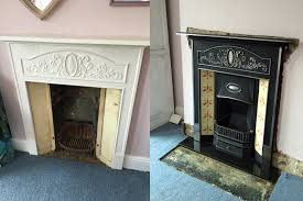 four fireplace restorations 1 we removed this cast iron