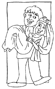 Matrimonio Disegni Per Bambini Da Colorare