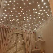fiber optic star lights baby nursery ceiling -- forget a nursery I want  this in my room! It's like the adult version of the glow-in-the-dark stars  that go ...