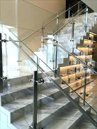 glass handrail system stair railing with glass best ideas on stainless steel clamps handrail system glass glass handrail system