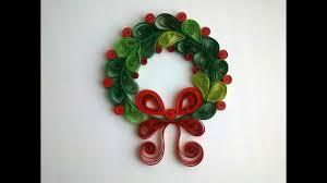 Paper Decorations Christmas Paper Quilling Make Hristmas Quilling Decorations Youtube