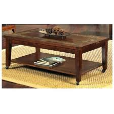 steve silver coffee tables silver davenport slate cocktail table with locking casters steve silver winston rectangle