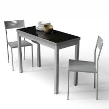 Table De Cuisine Verre Noir Idée De Modèle De Cuisine