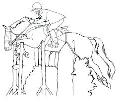 horses jumping coloring pages. Brilliant Horses Fresh Beautiful Horse Coloring Pages Or Best Color Horses New  Jumping Racing Free And Horses Jumping Coloring Pages U