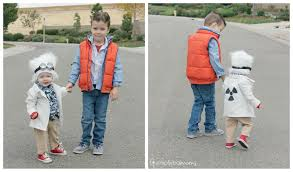 diy sibling costume back to the future 3