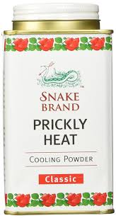Heat Cool Amazoncom Prickly Heat Powder Snake Brand Classic Scent 150
