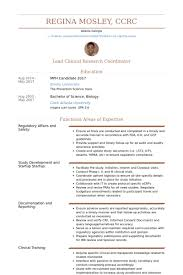 Clinical Research Coordinator Iii, Infectious Disease Resume samples