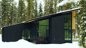 Small Picture Form and Forest Completes First Flat Pack Prefab Cabin in British