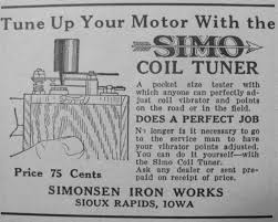 Image result for model t ignition tune up