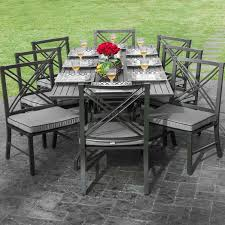 outdoor patio table set best of 8 person outdoor dining table brilliant tables modern patio ideas