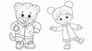 Chic Inspiration Daniel Tiger Coloring Pages S Neighborhood Pbs Kids