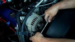 Alternator Replacement 1996-2000 Chevrolet & GMC Trucks - YouTube