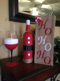 How To Decorate A Wine Bottle For Christmas Best Hand Painted Wine Bottles Products On How To Decorate Wine 51