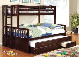 Amazon.com: Furniture of America Pammy Twin over Queen Bunk Bed, Oak:  Kitchen & Dining