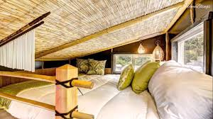 Tiny House On Wheels Asian Inspired Bamboo Interior Design Small - Tiny house on wheels interior