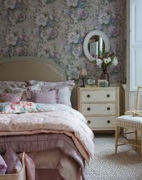 Pink And White Wallpaper For A Bedroom Make Your Bedroom Gorgeous With Wallpaper The Room Edit
