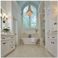 Impressive Bathroom Crystal Chandelier Lavish Modern Bathroom - Modern bathroom chandeliers