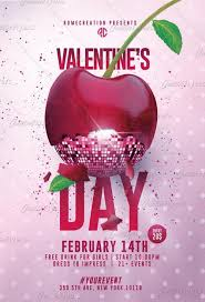 Valentines Flyers Valentines Day Flyer X2