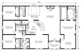 Beautiful 4 Bedroom 3 Bath Ranch Plan Google Image Result For  Http://www.jachomes.com/userfiles/images/Floor %2520Plans/Modular/OakHill_Sales_Print