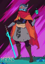 Hyper Light Drifter Cosplay Jack Starlight Sword Of Starlight Sword Of Jack