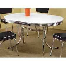 stylish modern brown oval dining table