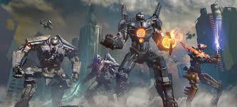 Pacific Rim Uprising Kaiju Size Chart Jaegers And Kaiju Get Bigger And Better In The Art And