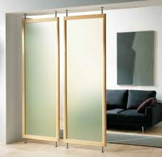 cheap office partition. The Living Room Is Modern And Minimalist, It Has Thick Glass Divider There Feet Cheap Office Partition