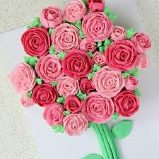 Pink Roses Cupcake Bouquet Free Dubai Delivery Buy Now