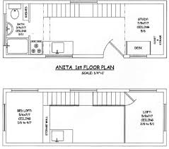 Floor plans  Tiny house and Bedroom office on PinterestTiny House on Wheels   Initial layout of the interior floor plan