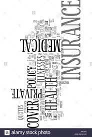 what you need to know about health insurance how quotes are calculated text word cloud concept