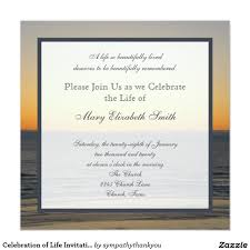 Invitation For Funeral Celebration Of Life Invitation Quotes Pinterest Celebrations 13