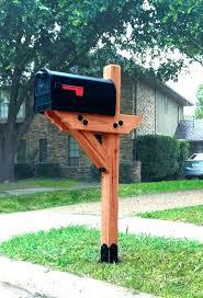 mailbox post design ideas. Wood Mailbox Post Unique Ideas  Designs Appealing Posts Design