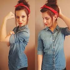 rosie the riveter holidays costumes diy costumes