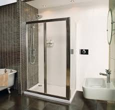 collage bi fold door shower enclosure