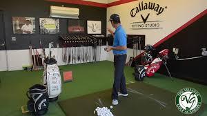 Golf Pro Tip Callaway Fitting Studio Club Fitting