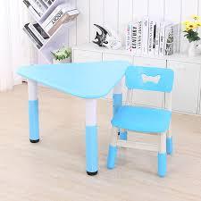 Scan Home Furniture Awesome 乐智在儿童桌椅套装加厚幼儿园桌椅宝宝学习桌塑料桌子椅子游戏桌玩具桌