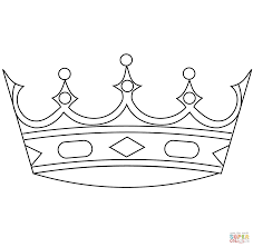 Small Picture Crown coloring page Free Printable Coloring Pages