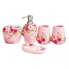 bathroom accessories online nz. fuloon country style resin 5pc bathroom accessories set soap dispenser/toothbrush holder/tumbler/ online nz o