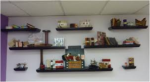 magnificent decorative shelves for walls 6 natural honey can do shelving accessories shf 04408 64 1000